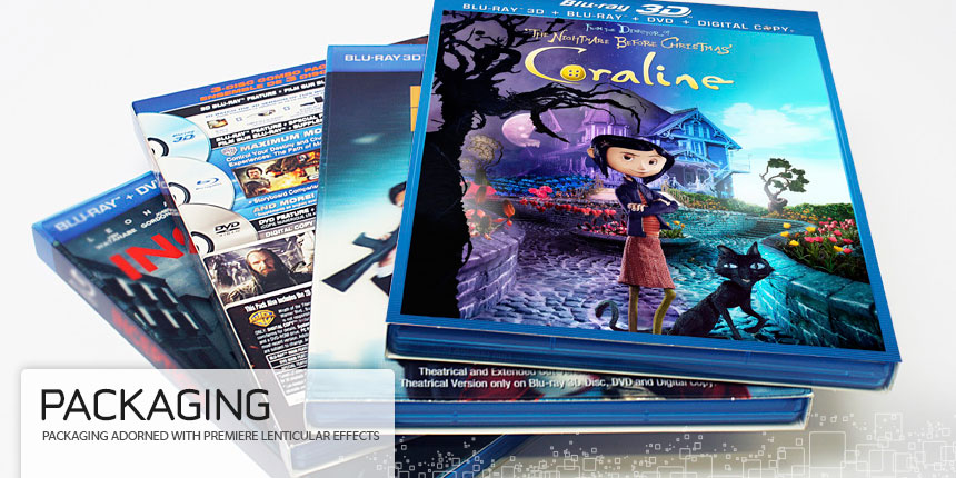 Virtual Images | Lenticular Packaging