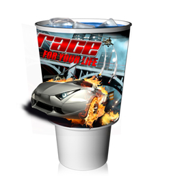 Virtual Images | Lenticular 32 oz to go cup