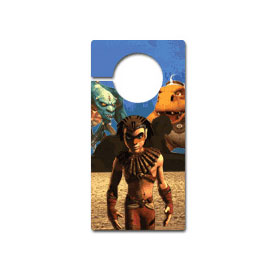 Virtual Images | Lenticular Door Hanger